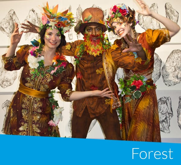 Forest and woodland characters