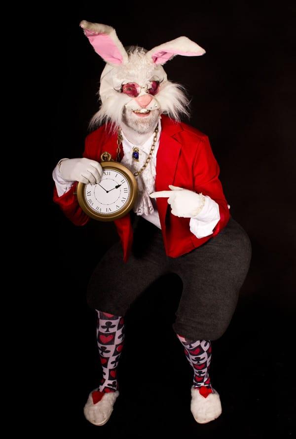 Rabbit costume - Alice in Wonderland