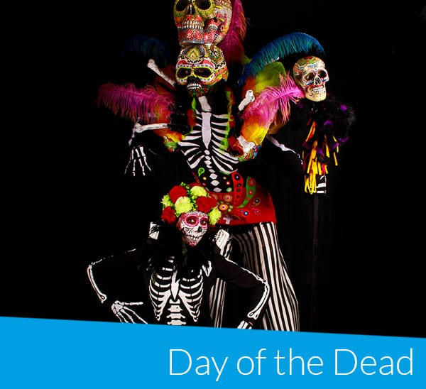 Day of the dead bookable act Enter Edem