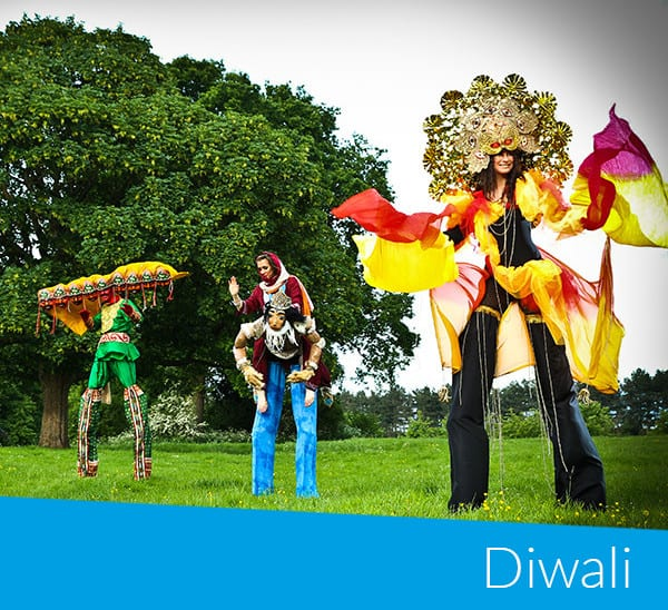 Diwali bookable acts