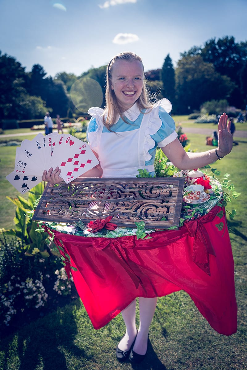 Alice and her garden games