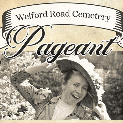 Welford Road Cemetery pagaent