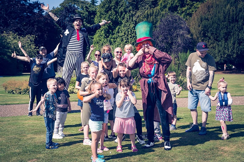Abbey Park Extravaganza with the Mad hatter